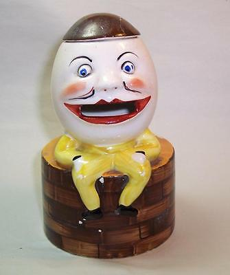 RARE Antique/Vintage SPOON WARMER Ceramic HUMPTY DUMPTY - REG. NO. Underneath