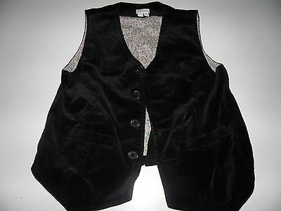 Childs Monsoon Velvet Waistcoat Size 7/8 Yrs old