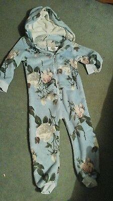 Girls floral onsie from next, age 4 years
