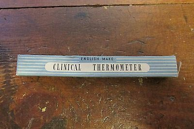 Clinical Thermometer Stumpy Bulb.1940`s