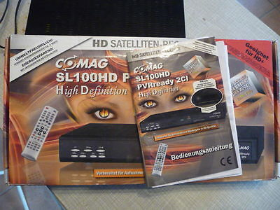 COMAG SL100HD digital. SAT-Receiver USB SCART HDMI HD+ geeignet Common Interface