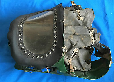 VINTAGE WWII BABY GAS MASK incubator home front second world war