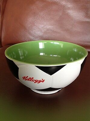 kellogs football 2002 cereal bowl collectable