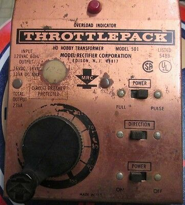 2nd Throttle Pack (powerpack for HO & N Scale Trains) by MRC