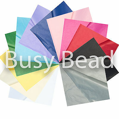 10 Sheets Luxury TISSUE PAPER 18gsm Acid Free High Quality Gift 50x75cm