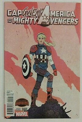 Captain America and the Mighty Avengers #9 Gwen Variant Marvel 2015 vfn