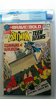 Brave and the Bold #102 CGC 9.4 NM  Neal Adams Cover