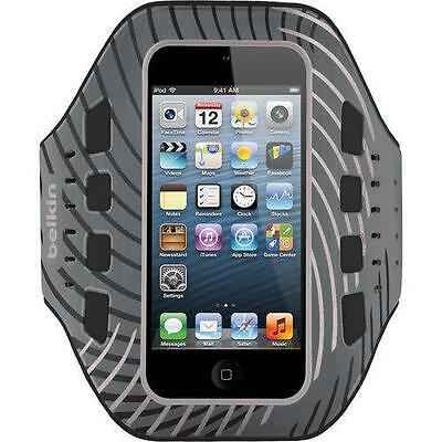 Belkin Pro-Fit Armband For iPod touch iPhone 5 5s/5c/5se  gray