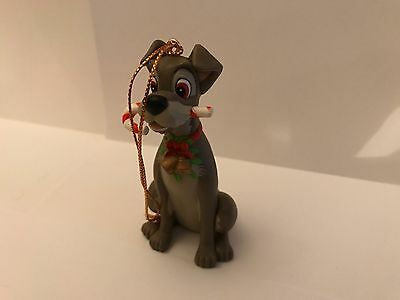 Disney ~ Grolier ~ Tramp ~ Christmas Ornament Real Old From 80's