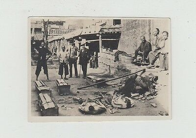 China Old Photo Tientsin Chinese Execution Boxer War !!