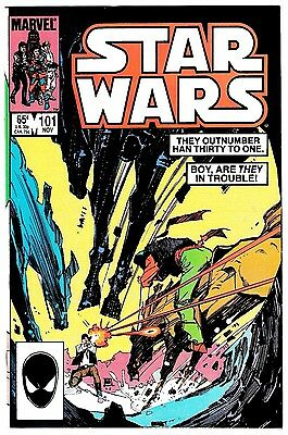 STAR WARS #101 (NM) Han Solo Cover! Marvel 1985 Nice High Grade! LQQK