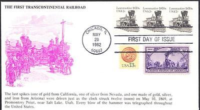1870s LOCOMOTIVE Transportation Coil Stamps 1897A KMC Venture FDC (1892)