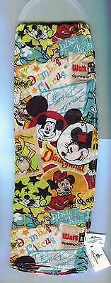 Disney Parks Mickey Mouse Collage Pattern Scarf Disney Characters New With Tags