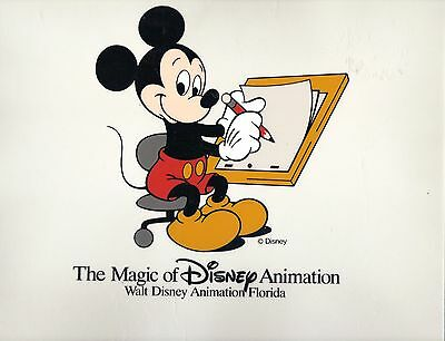 Walt Disney Animation Art Original Commercial Cel Mickey Mouse