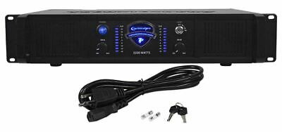 New Technical Pro LZ3200 3200 Watt 2-Channel Amplifier 2U Rack DJ Power Amp