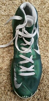 Michigan State Travis Trice Signed and Game Used Worn Nike Zoom Shoe sz 13.