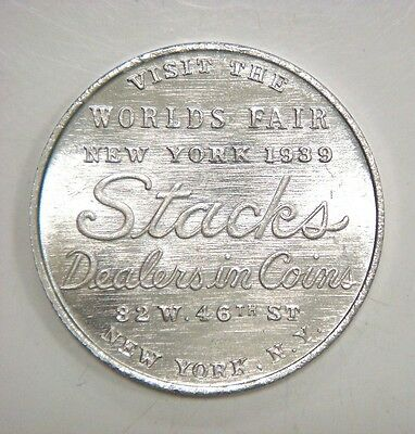 1939 New York World's Fair - Stacks dealers in Coins