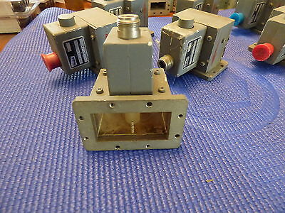 Melabs WR-229 Waveguide ISO-Adaptor WR-229 transition to N with Isolator