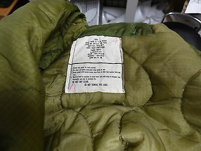 Large LINERS for Military Night Desert Parka and other Fishtail Parkas