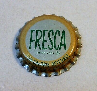 Vintage Fresca..cork..unused..Soda Bottle Cap #1