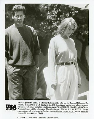 Bo Derek Jack Scalia Shattered Image Original 1996 Tv Press Photo