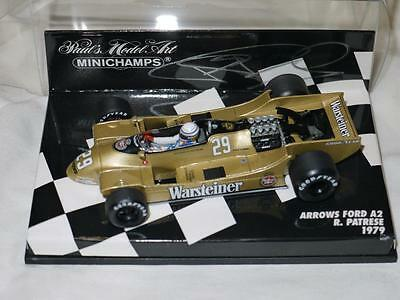 Minichamps 1:43 F1 1979 Riccardo Patrese Arrows Ford A2 Autographed