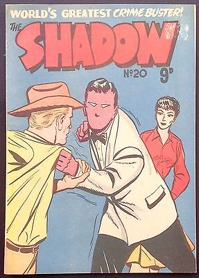 FREW THE SHADOW # 20 EARLY AUSTRALIAN DRAWN COMIC 1950s CHAPMAN