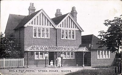 Stoke Poges. Dog & Pot Hotel by Merriman.