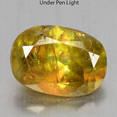 1.43 Cts Unheated Rare Color Change Natural Sphene Gemstones