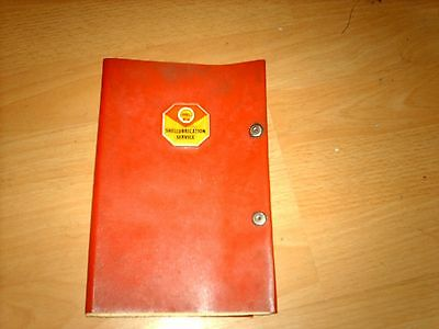 Vintage car service record Morris Cowley from new in 1955 to 1959, Shell folder