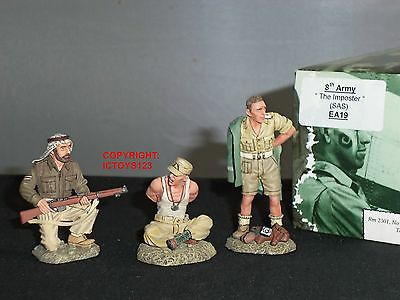King And Country Ea19 8Th Army British Sas The Imposter World War Two Figure Set