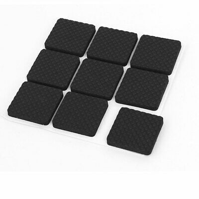 Table Legs Self Adhesive Square Design Furniture Protection Pads 25mmx25mm 9pcs
