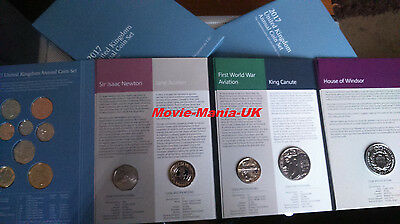 2017 UK Annual Coin Set with New 12 sided £1 coin