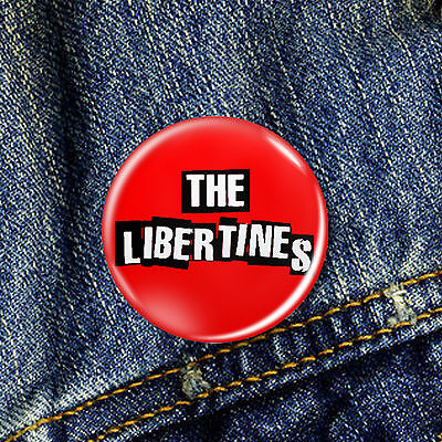 The Libertines Pete Doherty  Pin Button Badge 1 x 25mm Badge