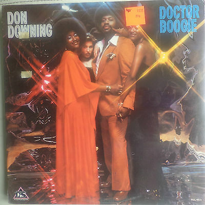 Don Downing - Doctor Boogie (sealed U.S. album)