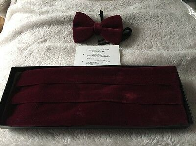 cummerbund and bow tie