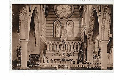 Ireland. Interior Of St. Mary's Star Of The Sea Rc Church, Whitehouse.