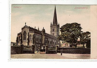 Ireland. Londonderry Cathedral.