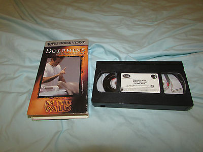 Dolphins With Robin Williams Pbs Home Video Vhs Tape
