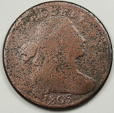 1803 Large Cent.  Circulated.  89001