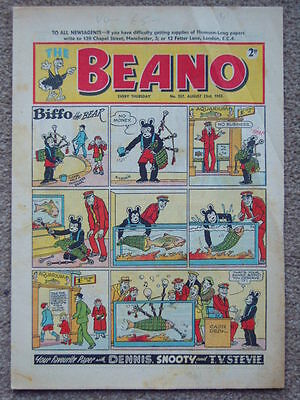 Beano Comic No 527, August 23rd 1952