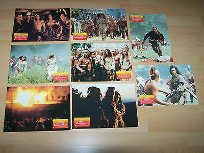 LAST OF THE MOHICANS - 8 lobby cards ´93 - DANIEL DAY-LEWIS Michael Mann