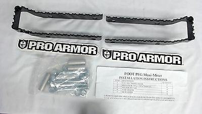 New Pro Armor Maxi-Miser Foot Pegs For 2006 2007 2008 2009 and up Suzuki LT-R450