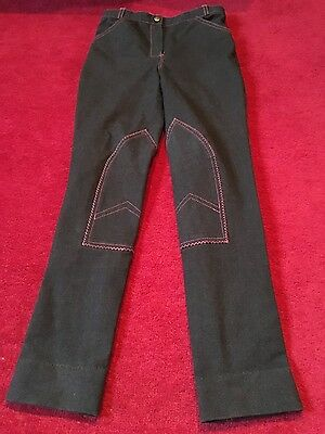 Girls Horseriding Jodhpurs jeans effect  Equine By Design 24R