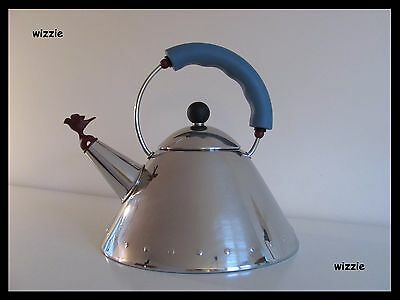 ALESSI : Whistling Tea Kettle with RED Bird / Michael Graves