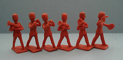 Six Vintage  Kelloggs / Crescent Marching Band Soldiers