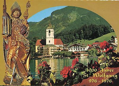 Alte Postkarte - 1000 Jahre St. Wolfgang 976 - 1976