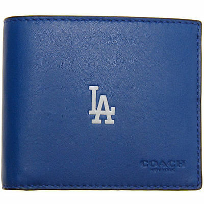 Los Angeles Dodgers Coach Compact ID Wallet - MLB