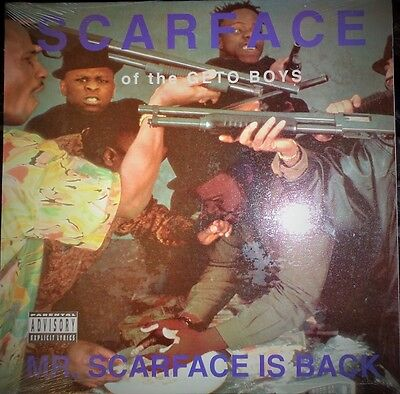 Scarface (Of The Ghetto Boys)  - Mr. Scarface Is Back (U.S. Sealed LP)