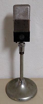 Vintage RCA Ribbon Microphone and Stand 74 B Serial #11227